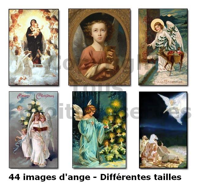 anges de noël