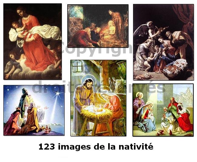 images de la nativité