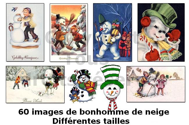 images de bonhomme de neige