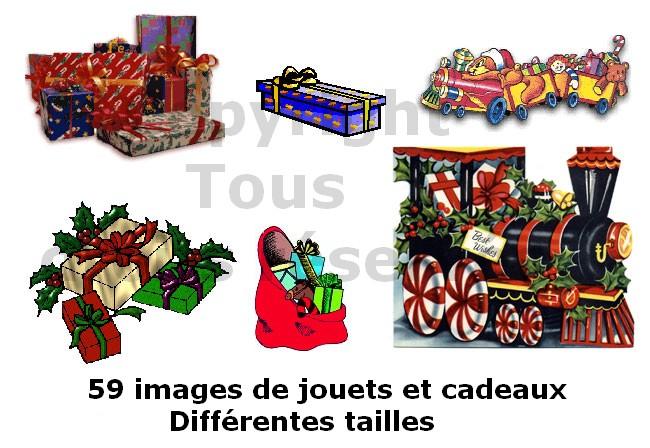images de jouets et cadeaux de noël