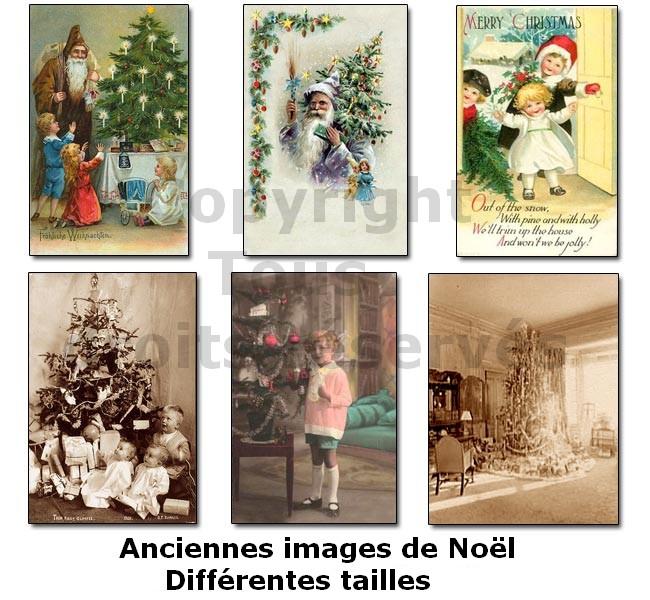 photos anciennes de sapin de noël